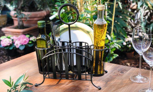 Gartenparty Tisch Deko