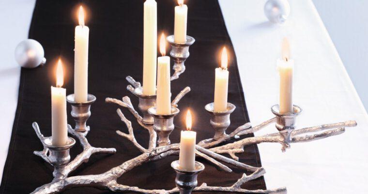 Inspirationen: Tisch weihnachtlich dekorieren