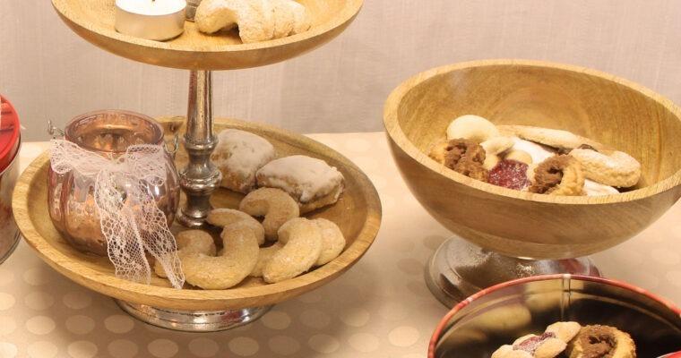 Köstliche Vanillekipferl in verschiedenen Variationen