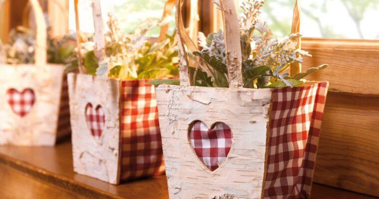 Liebevolle Deko-Inspirationen zum Valentinstag