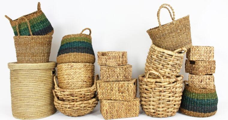 Einkaufskörbe: Stilvoll shoppen – der Umwelt zuliebe