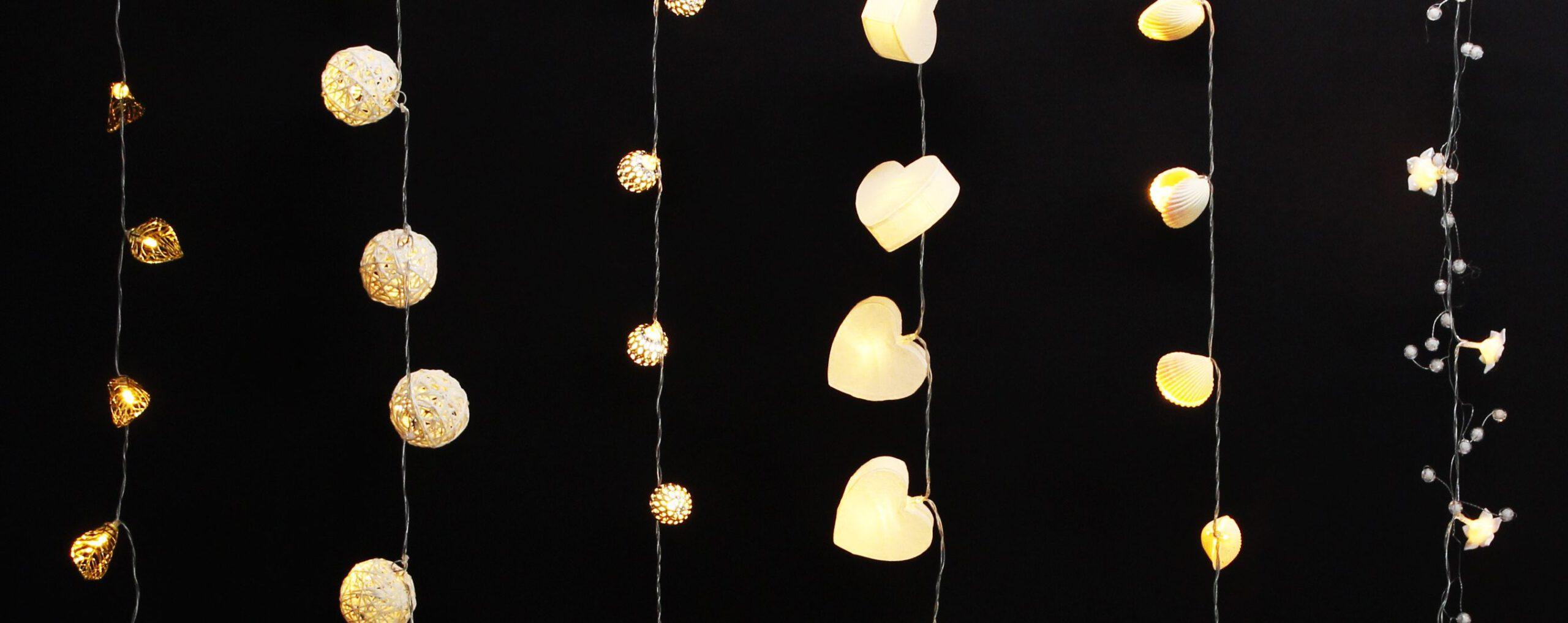 Dekoleuchten und Glühbirnen für effektvolle Beleuchtung