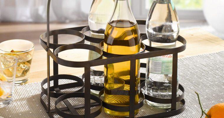 Flaschenkörbe für Bierflaschen & Co. am Tag des Bieres
