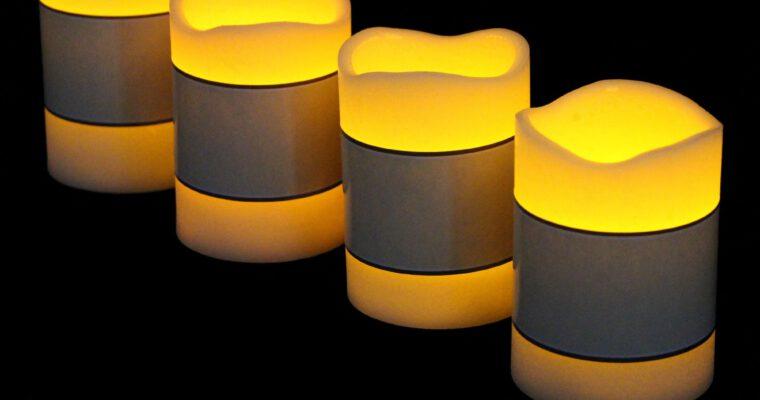 LED-Kerzen und Leuchtdekoration – Licht ohne Flamme