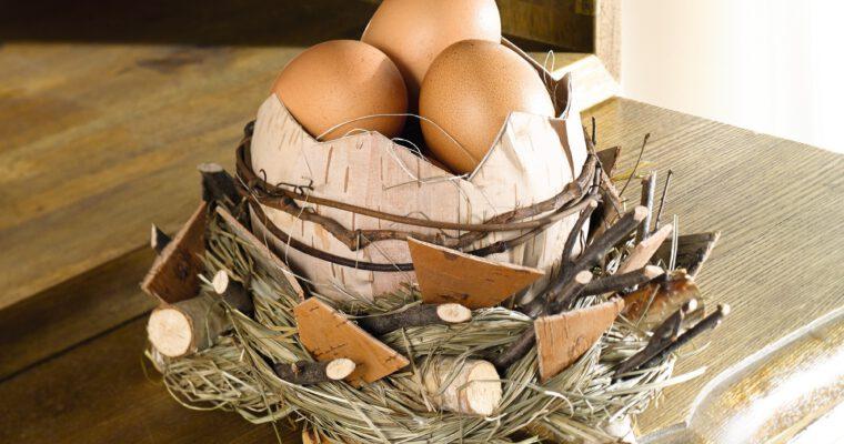Osternester selbst basteln: kreative Deko-Ideen