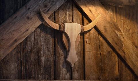 Westernstyle Bull-Head