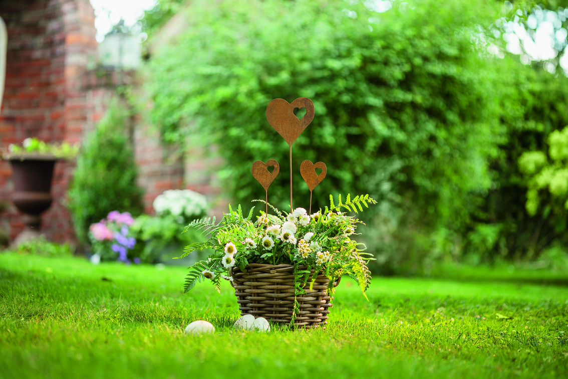 Pflanzstecker Frühlingsgarten