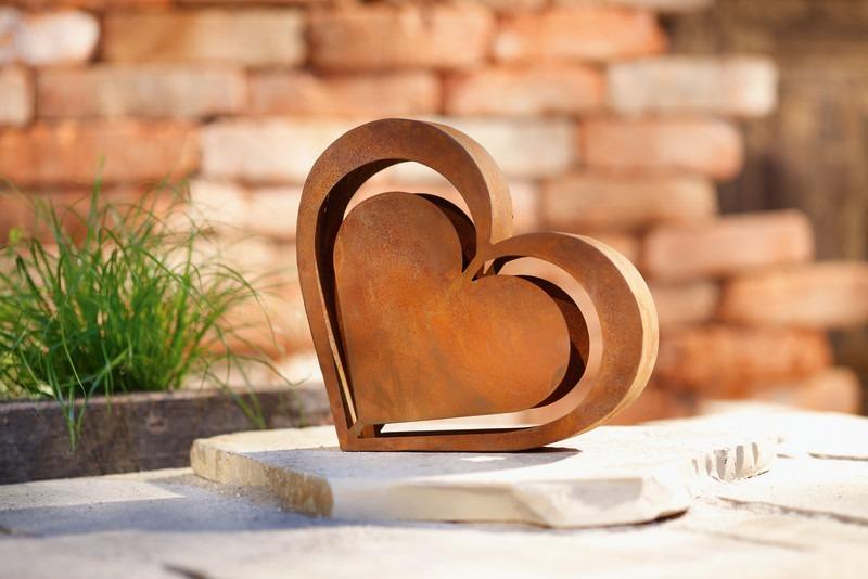 Herz in Rostoptik